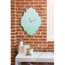 Social Proper Mint Ombre Wall Clock