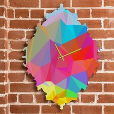 Three of the Possessed Crystal Crush Wall Clock