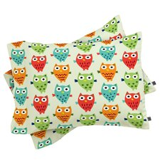 Andi Bird Owl Fun Pillowcase