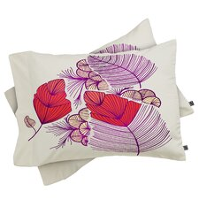 Gabi Sea Leaves Pillowcase