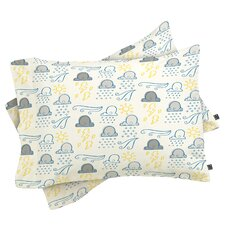 Jennifer Denty Clouds Pillow Case