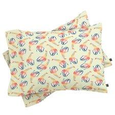 Jacqueline Maldonado Watercolor Giraffe Pillowcase