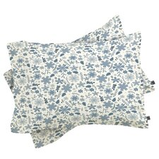 Jennifer Denty Genevieve Florals Big Pillowcase