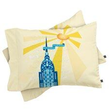 Jennifer Hill New York City Chrysler Building Pillowcase