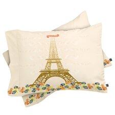 Jennifer Hill Paris Eiffel Tower Pillowcase