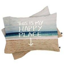 Leah Flores Happy Place X Beach Pillowcase