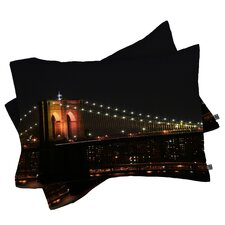 Leonidas Oxby Brooklyn Bridge 2 Pillowcase