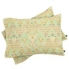 Pattern State Triangle Lake Pillowcase