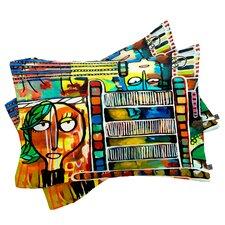 Robin Faye Gates Musical Chairs Pillowcase