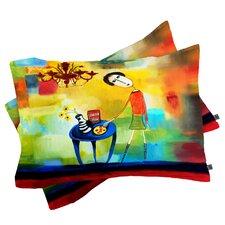 Robin Faye Gates Cheeze It Thank You Pillowcase