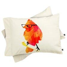 Robert Farkas Punk Bird Pillowcase