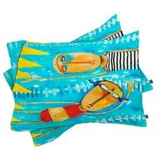 Robin Faye Gates Swimming is Hard Pillowcase