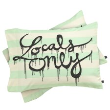 Wesley Bird Locals Only Pillowcase