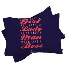 Wesley Bird New Boss Pillowcase