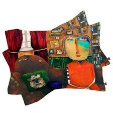 Robin Faye Gates with Bebe Pillowcase