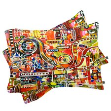 Robin Faye Gates It Came From Detroit Pillowcase