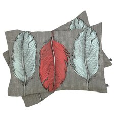Wesley Bird Feathered Pillowcase