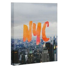 Chelsea Victoria NYC Skyline Graphic Art on Wrapped Canvas
