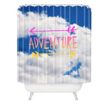Leah Flores Adventure Sky Polyester Shower Curtain