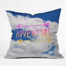 Leah Flores Adventure Sky Throw Pillow
