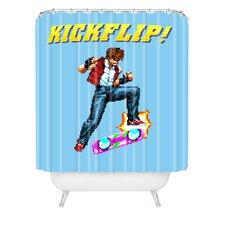 Robert Farkas Epic Kickflip Polyester Shower Curtain