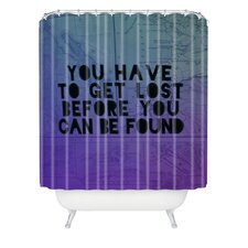 Leah Flores Lost x Found Polyester Shower Curtain