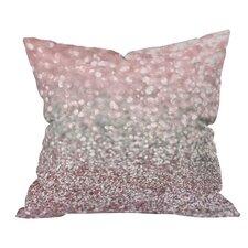 Lisa Argyropoulos Girly Snowfall Indoor/Outdoor Throw Pillow