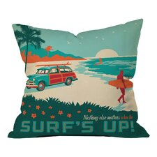 Anderson Design Group Surfs Up Indoor/Outdoor Throw Pillow