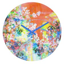 Coral Delight By Laura Trevey Clock