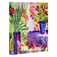 Purple and Lime by Laura Trevey Painting Print on Canvas