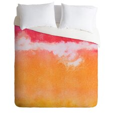 Tangerine Tie Dye Duvet Cover Collection