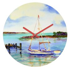 Laura Trevey Summer Sail Clock