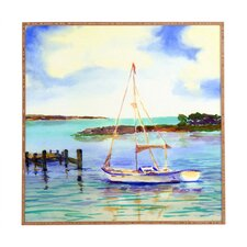 Summer Sail by Laura Trevey Framed Painting Print