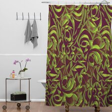 Wagner Campelo Abstract Garden Shower Curtain
