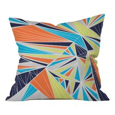 Vy La Tech It Out Retro Indoor/outdoor Throw Pillow