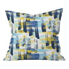 Zoe Wodarz Ikat Indoor/Outdoor Throw Pillow