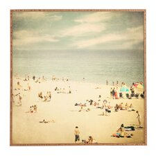 Vintage Beach by Shannon Clark Framed Photographic Print
