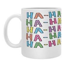 Leeana Benson Ha Ha No Coffee Mug