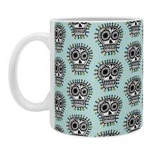 Andi Bird Sugar Skull Fun Coffee Mug