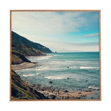 California Pacific Coast Highway by Catherine McDonald Framed Photographic Print