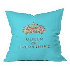 Bianca Green Queen of Everything Indoor/Outdoor Throw Pillow