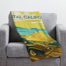 Anderson Design Group Coastal California Throw Blanket