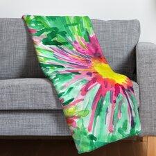 Joy Laforme Floral Confetti Throw Blanket