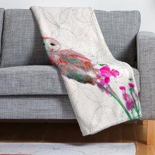 Hadley Hutton Quinceowl Throw Blanket
