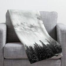 Bird Wanna Whistle White Mountain Throw Blanket