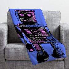 Romi Vega Lantern Robot Throw Blanket