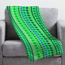 Romi Vega Retro Throw Blanket