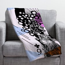 Randi Antonsen Poster Hero 3 Throw Blanket