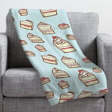Jennifer Denty Cake Slices Throw Blanket