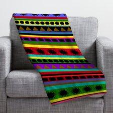 Romi Vega Heavy Pattern Throw Blanket